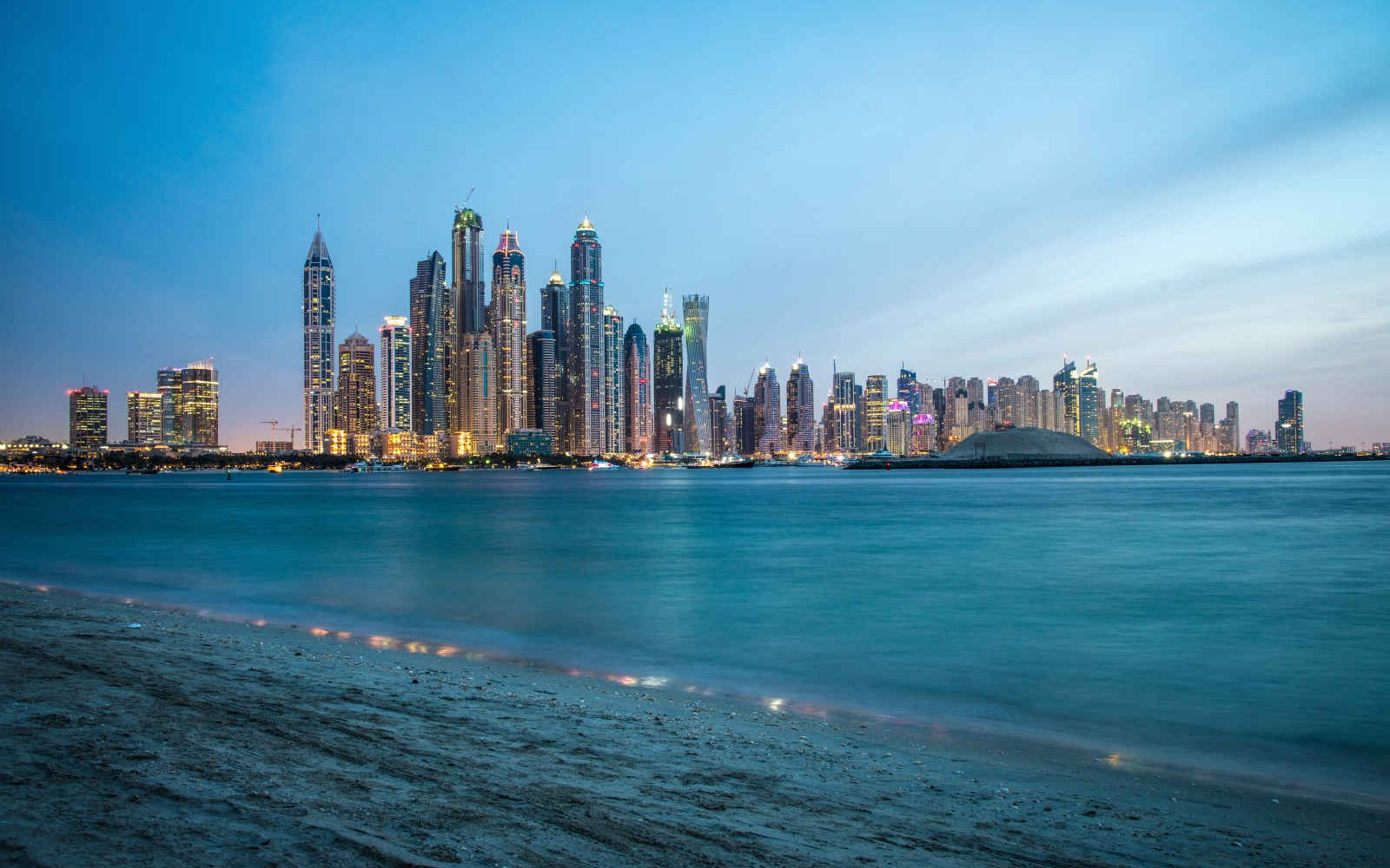 Skyline, Marina, Dubai