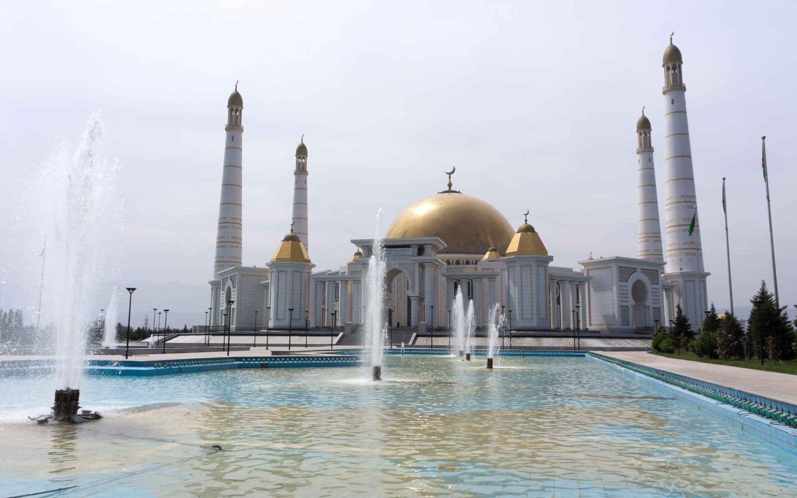Mosquée Kipchak (Turkmenbashi Ruhy Metjidi), Ashgabat, Turkménistan