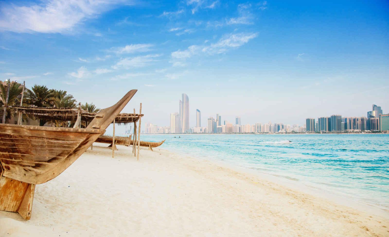 Plage, Abou Dhabi