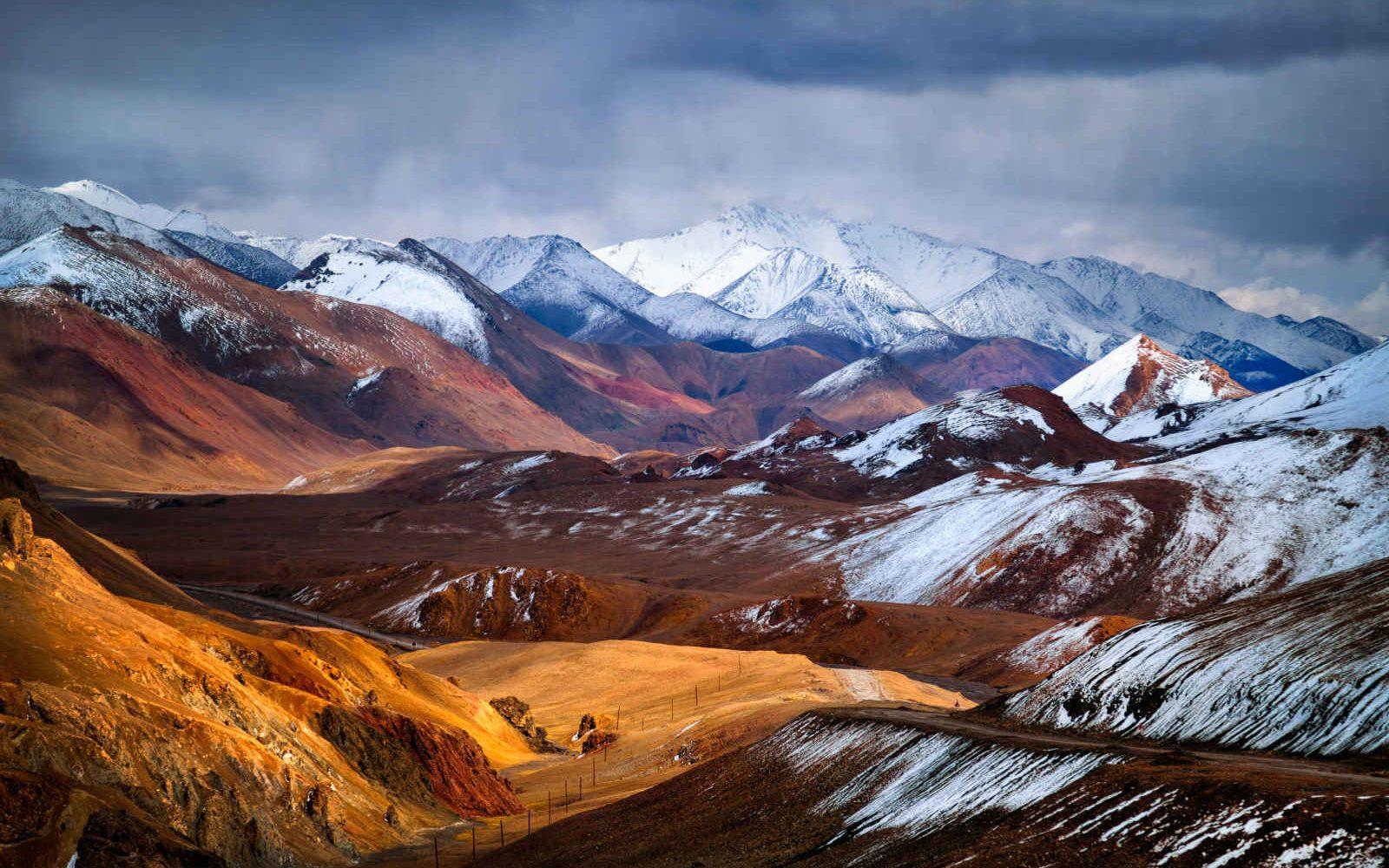 Col Akbaital, Pamir, Tadjikistan