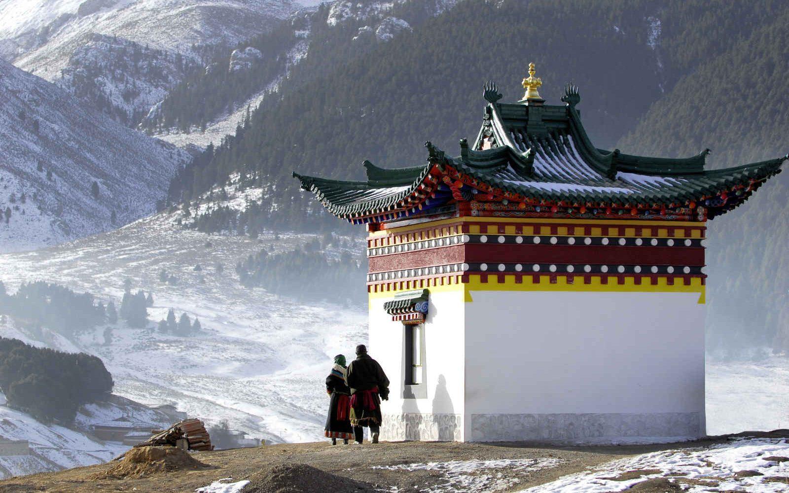 Prayer and Temple, Nepal