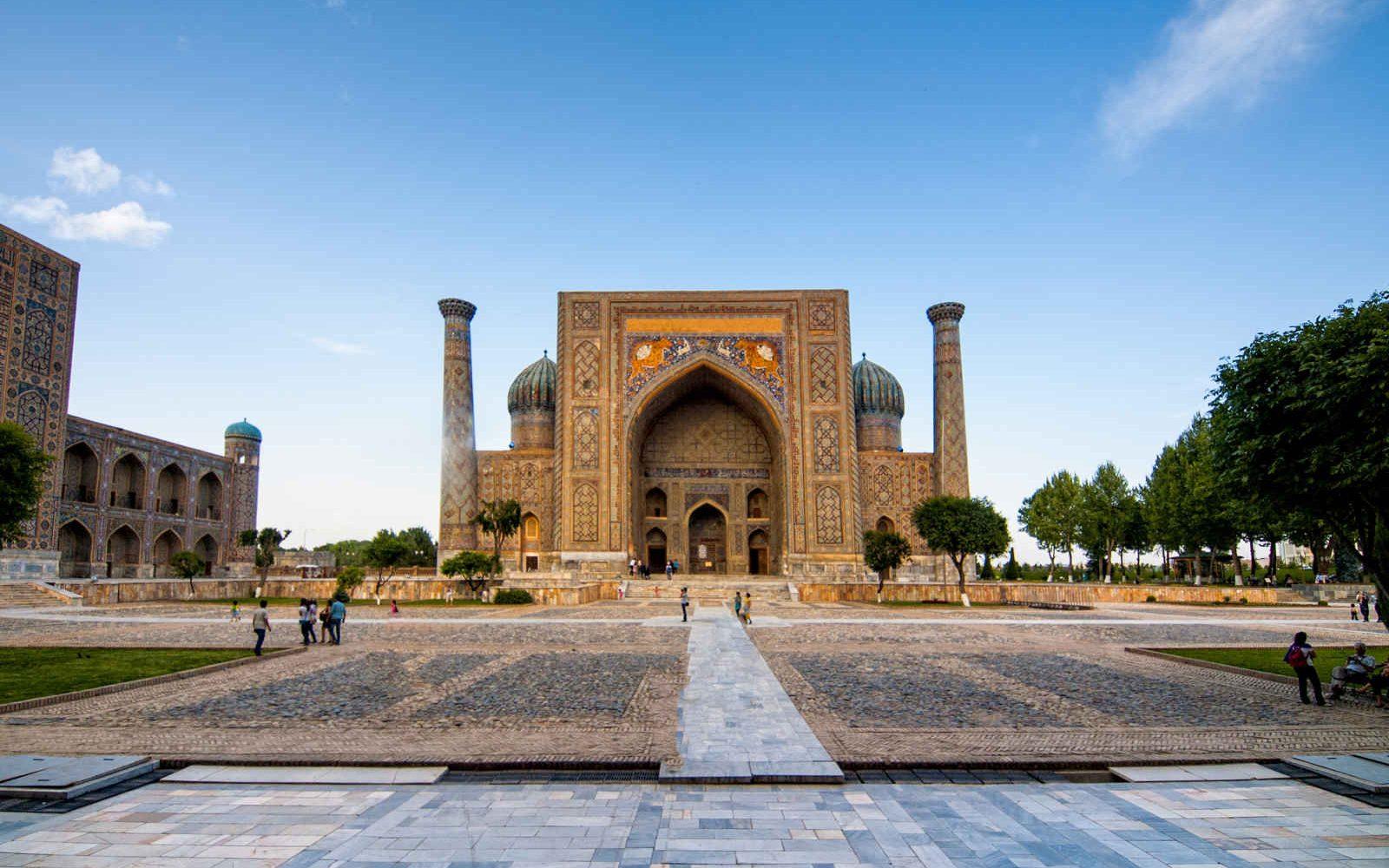 Place du Registan, Samarcande, Ouzbékistan