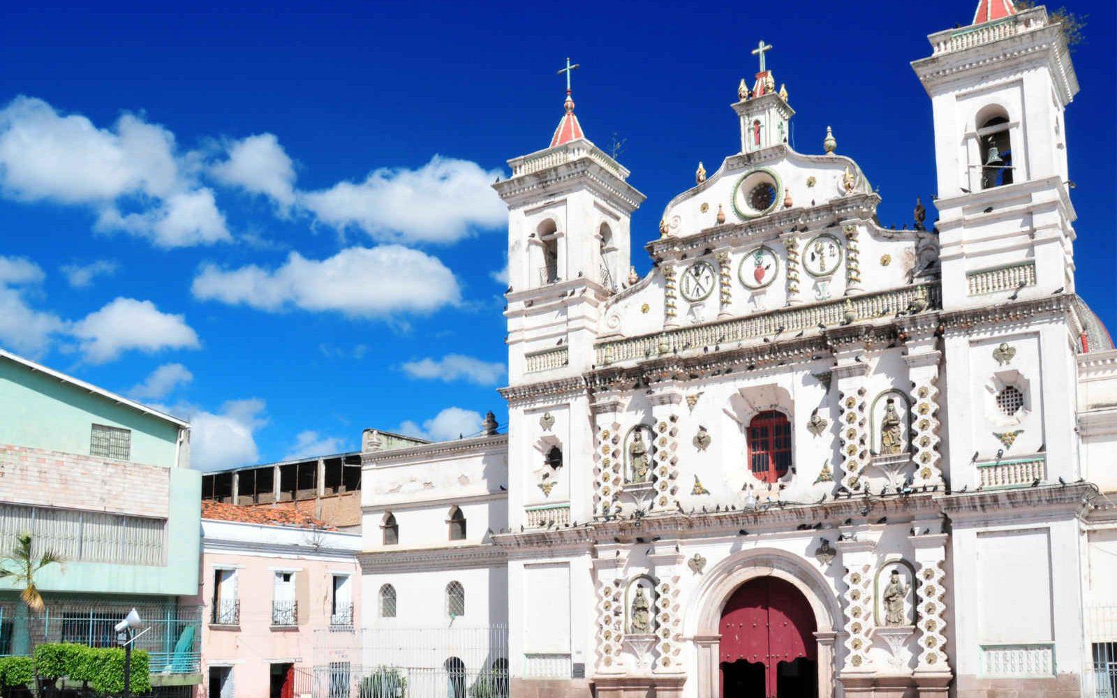 Eglise Los Dolores, Tegucigalpa, Honduras, Amérique Latine