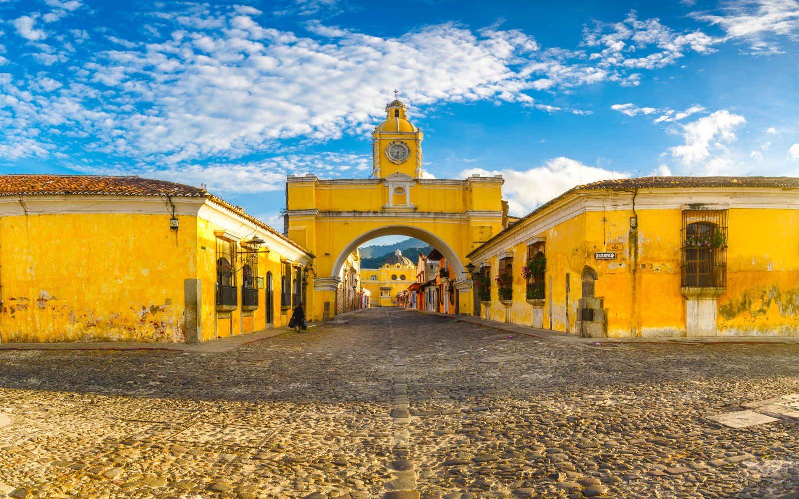 Arche de Santa Catalina,Antigua, Guatemala