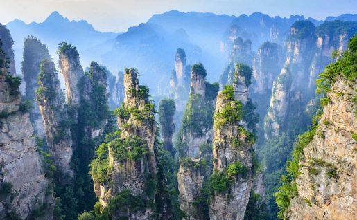 Forêt des Pierres, Zhangjiajie, Chine