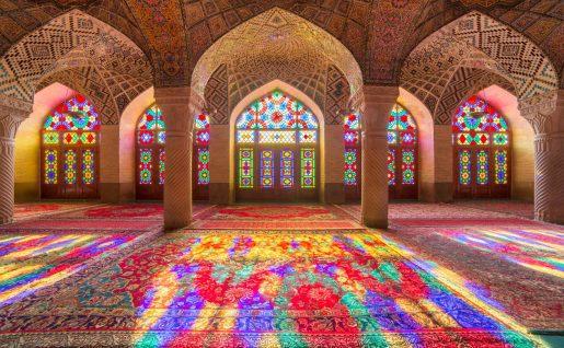 Mosquée Nasir Al Mulk, Chiraz, Iran