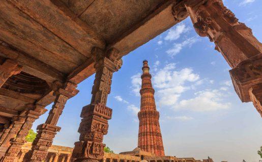 Qutab Minar, Delhi, Inde