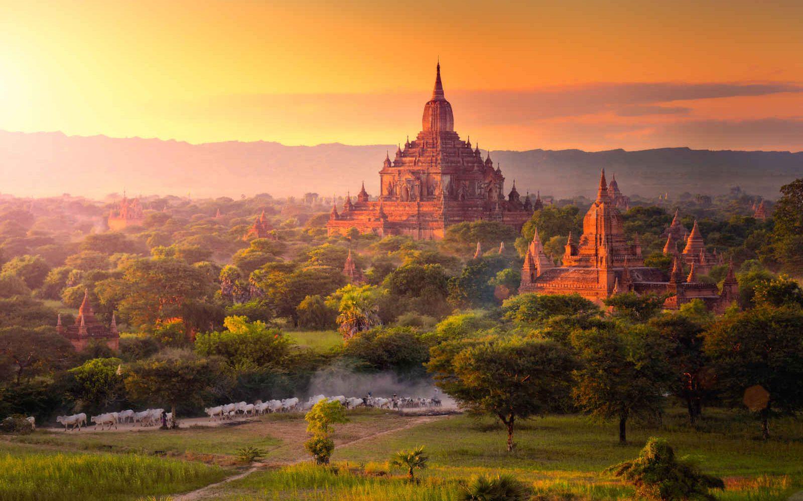 Pagode, Bagan, Myanmar