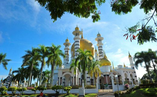 Mosquée Masjid Ubudiah, Kuala Kangsar, Malaisie