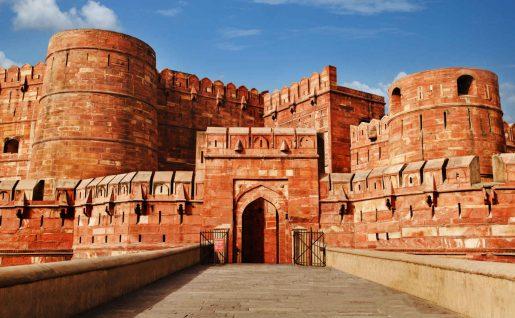 Fort Rouge, Agra, Rajasthan, Inde