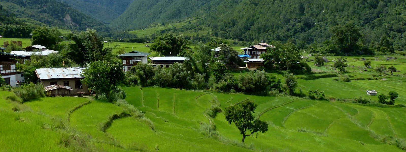 Village, Bhoutan