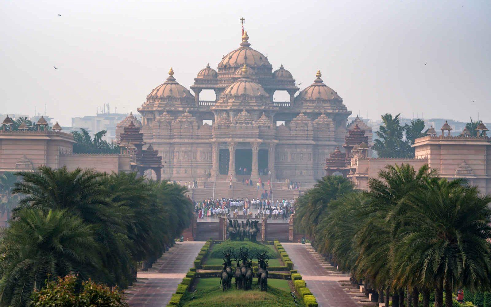 Temple Akshardham, Delhi, Inde