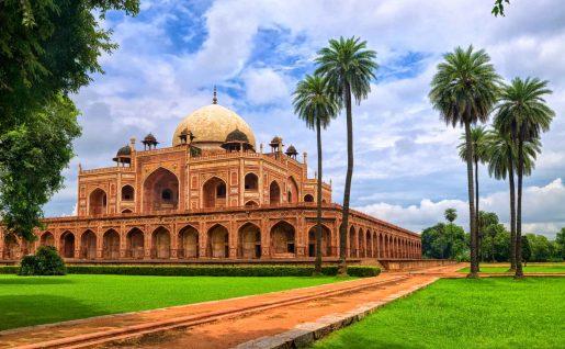 Le Tombeau d'Humayun, Delhi, Inde