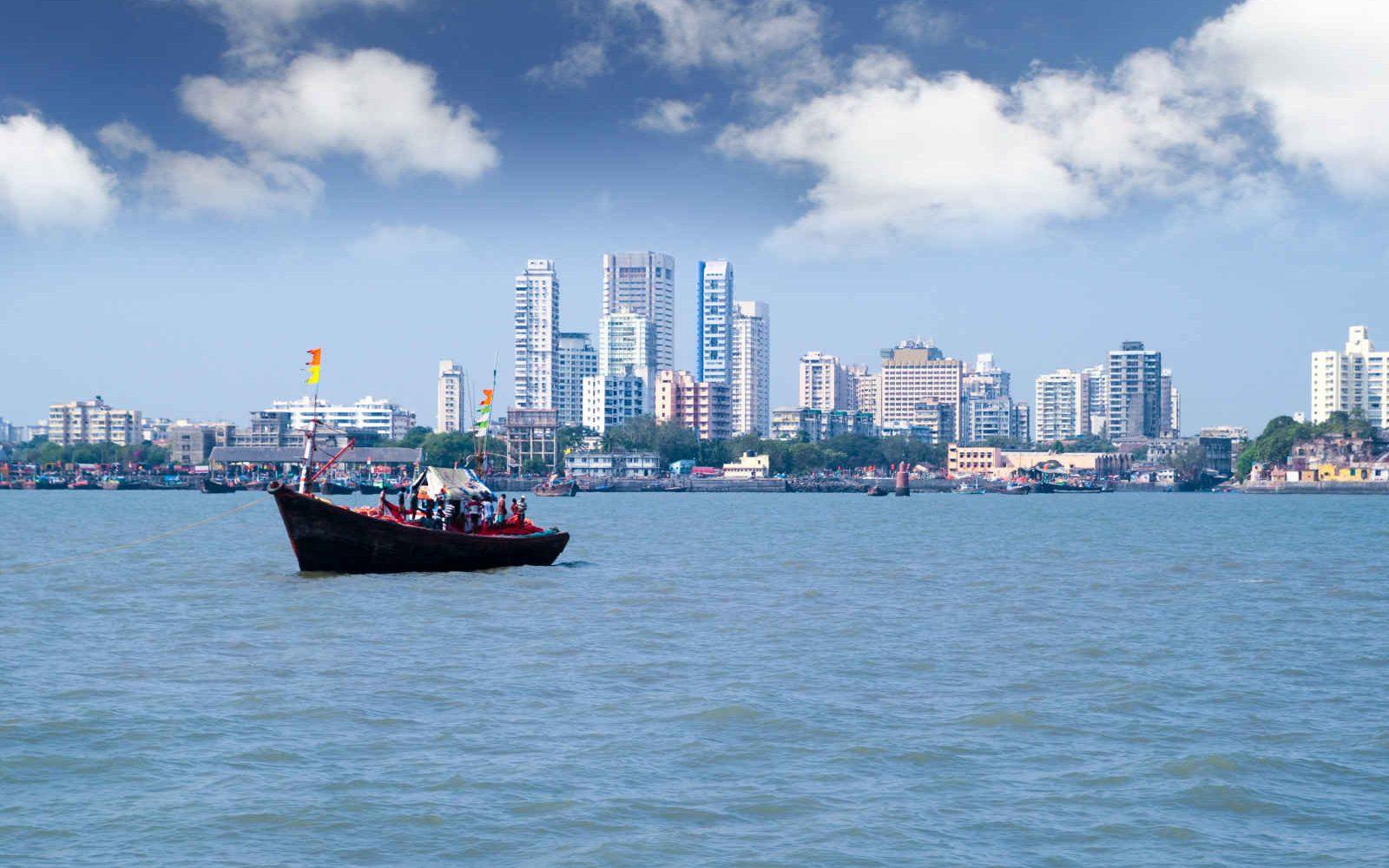 Skyline de Mumbai (Bombay), Inde