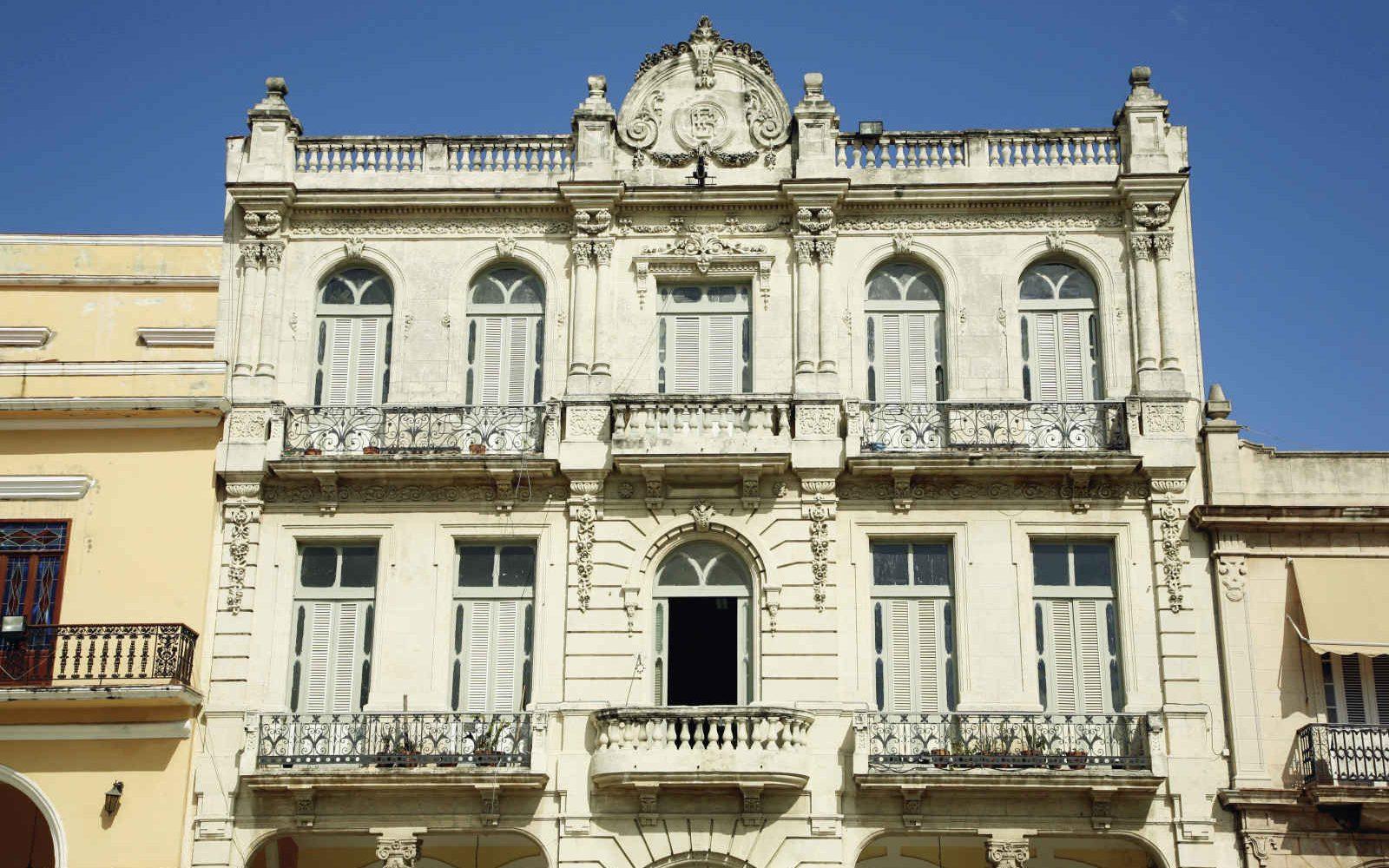 Colonial building in Havana, Cuba