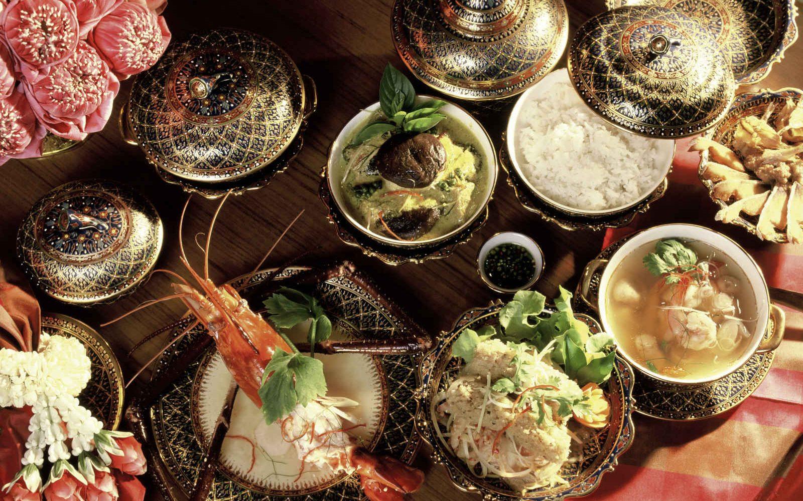 Restaurant, Hotel Mandarin Oriental Bangkok, Thaïlande