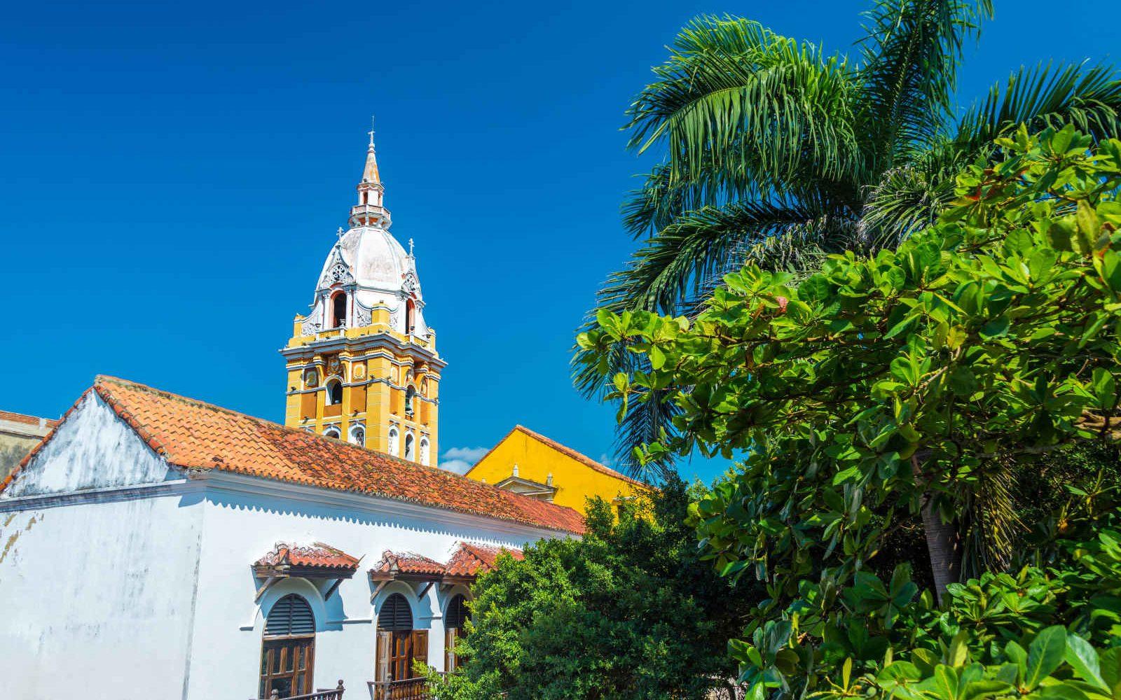 Cathédrale, Carthagène des Indes, Colombie