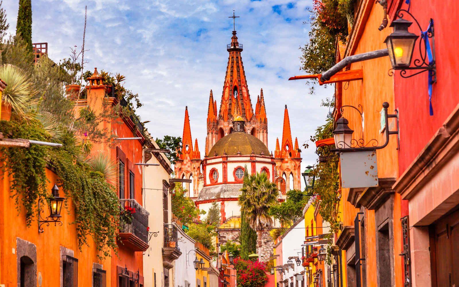 Cathédrale San Miguel de Allende, Guanajuato, Mexique