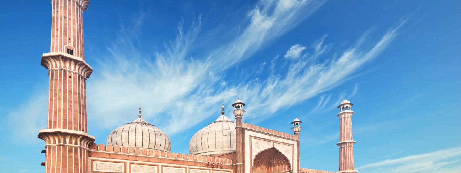 Mosquée Jama Masjid, Delhi, Rajasthan, Inde
