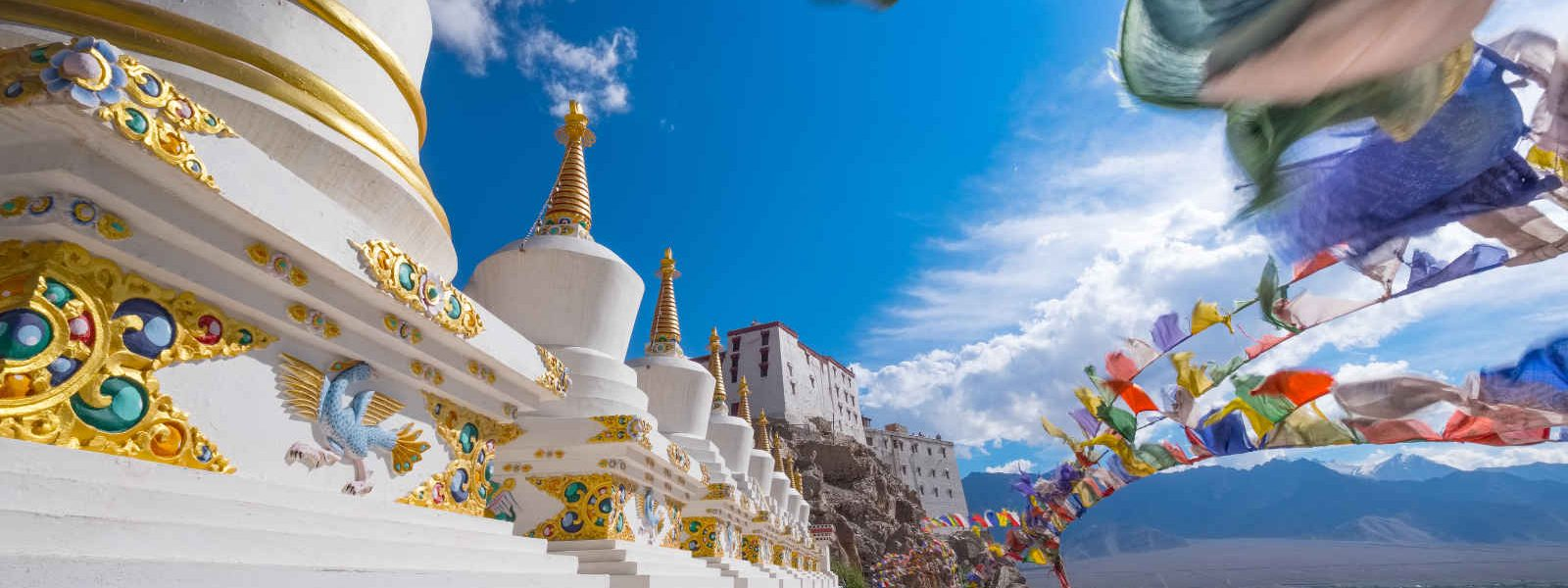 Temple de Thiksey, Leh Ladakh, Inde