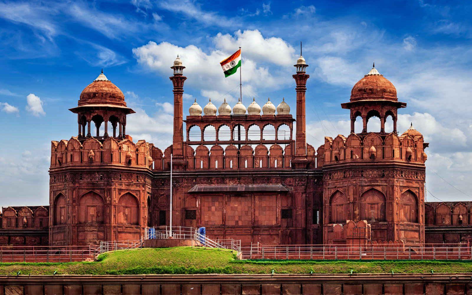Le Fort Rouge, Delhi, Inde