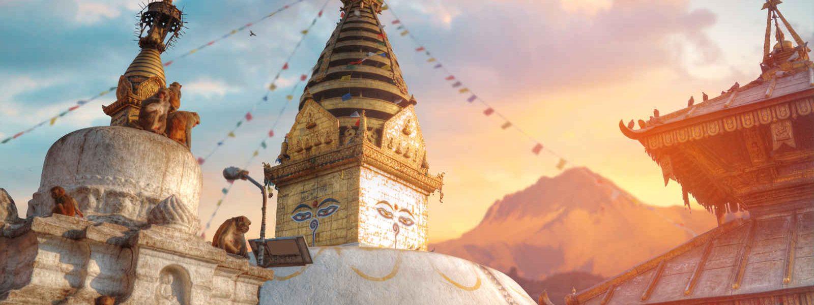Swayambhunath, Kathmandu, Népal