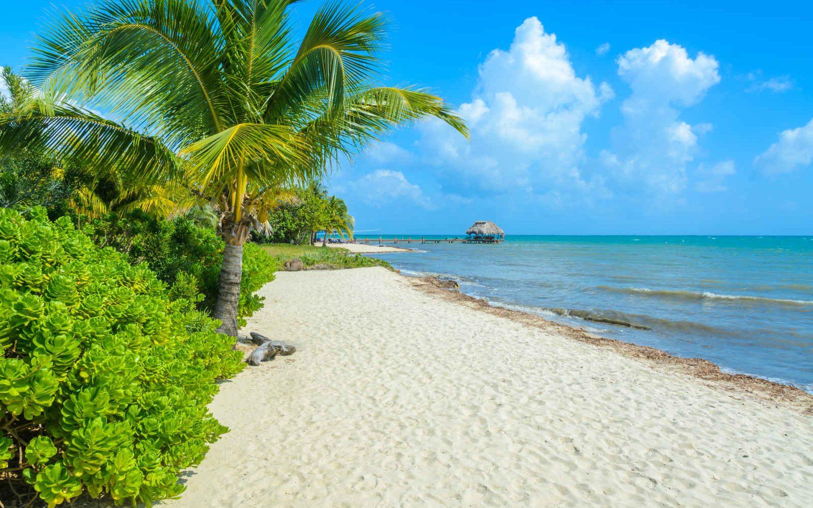 Plage, Placencia, Belize