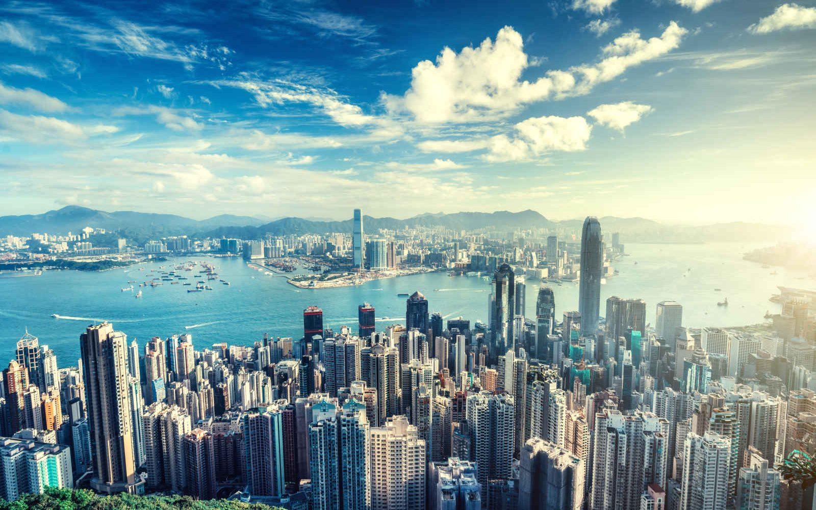 Skyline de Hong Kong, Chine