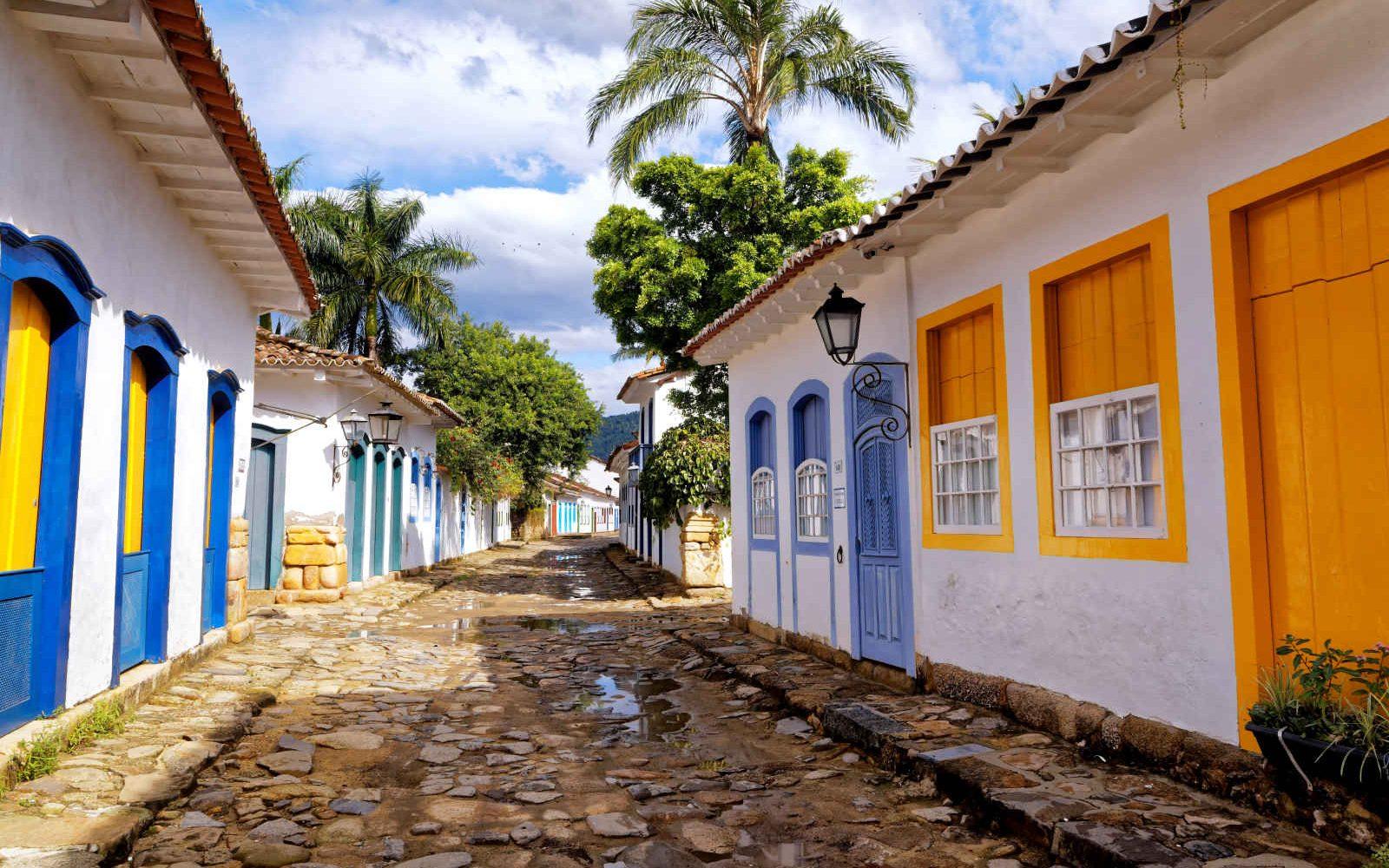 Ruelle, Paraty, Brésil