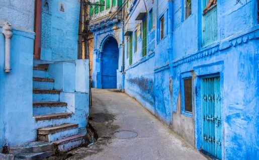 La ville bleu, Jodhpur, Rajasthan, Inde