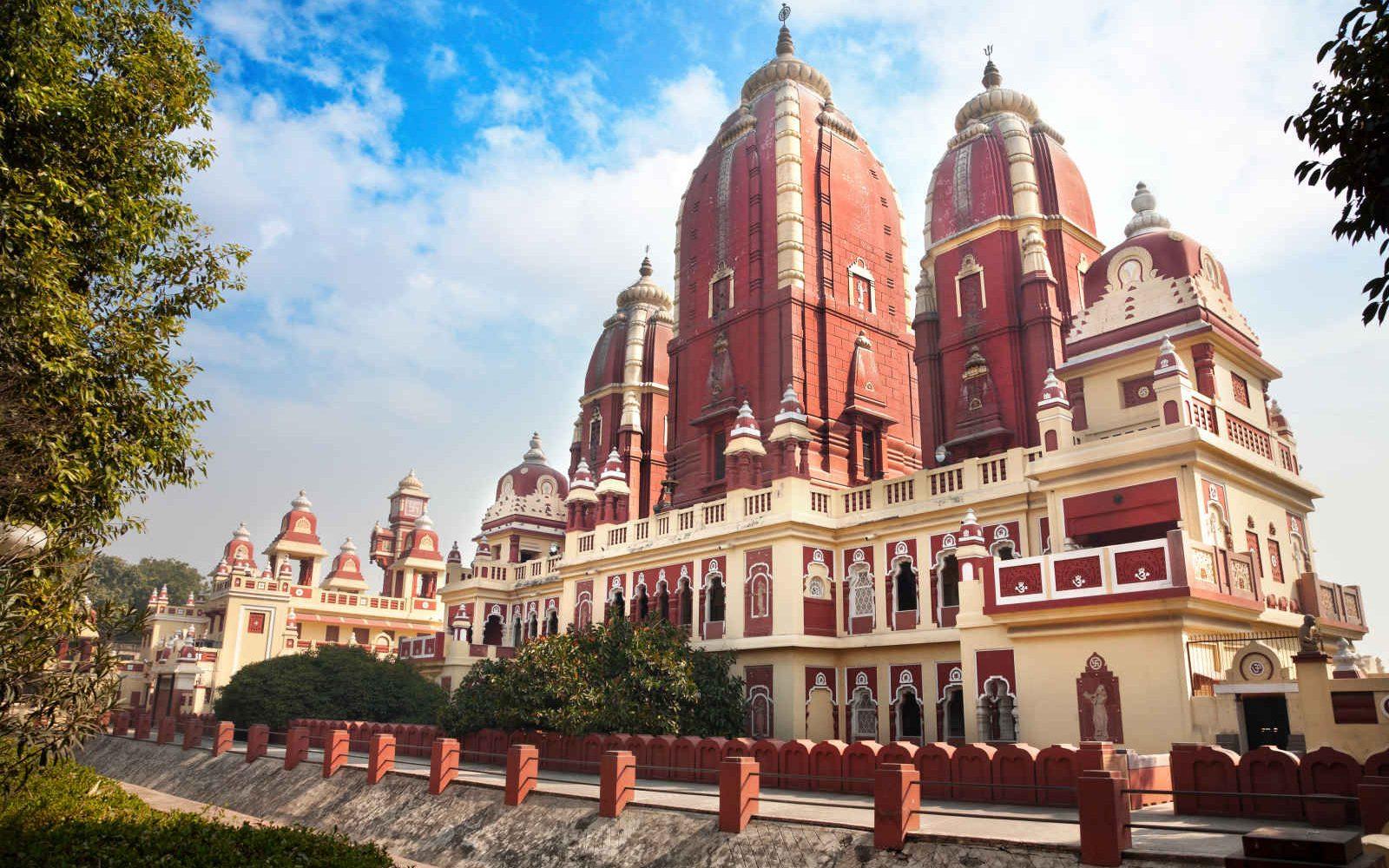 Temple Laxmi Narayan, Delhi,, Inde