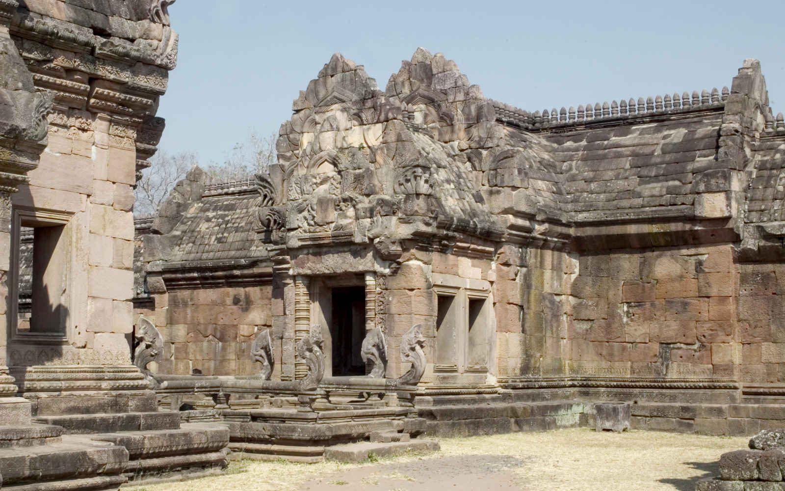 Le site khmer de Prasat Phanom Rung dans l'Isan, Thaïlande