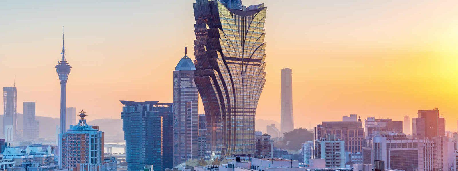Skyline, Macao, Chine