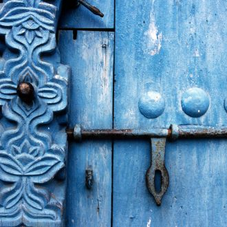 Détail d'une porte, Zanzibar