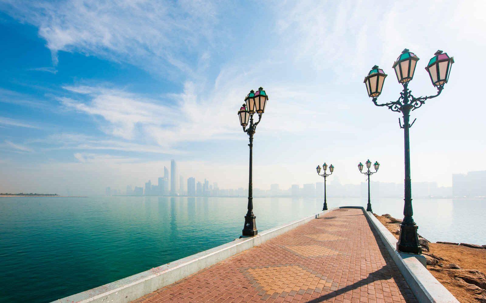 Skyline, Abou Dhabi, Emirats Arabes Unis