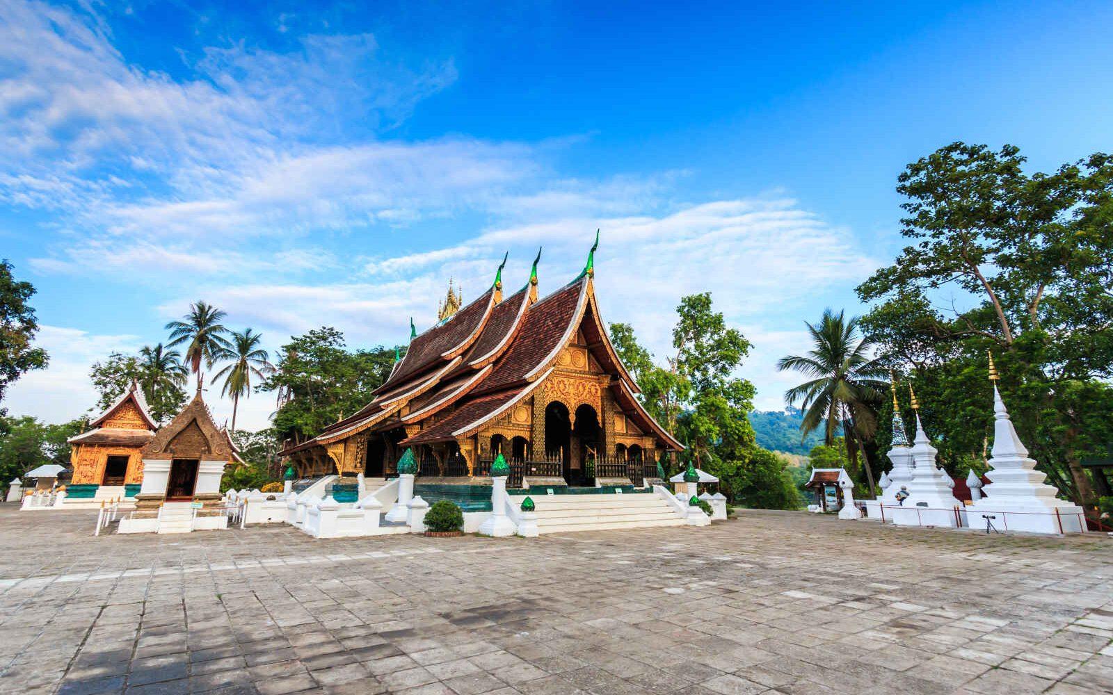 Wat Xieng Thong, Luang Prabang, Thailande
