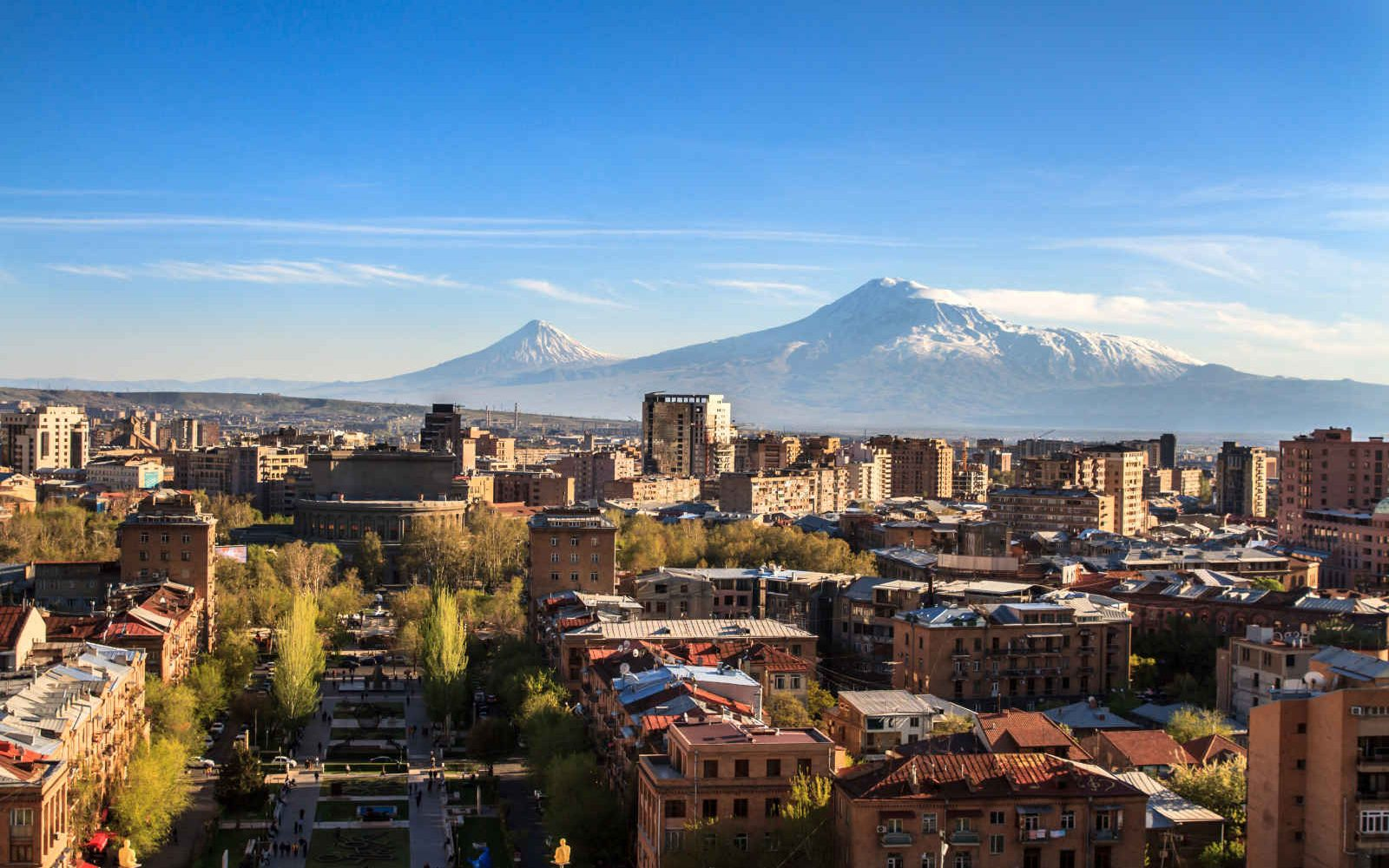 Skyline, Montagne Ararat, Erevan, Arménie