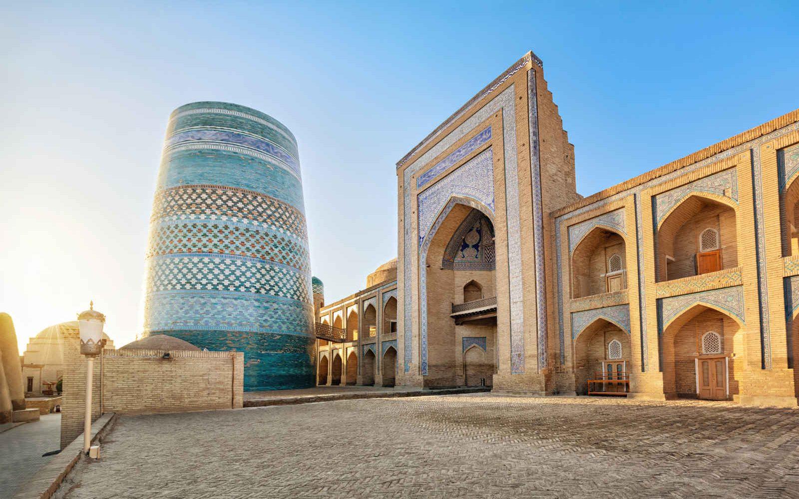 Kalta Minor minaret, Khiva, Ouzbékistan