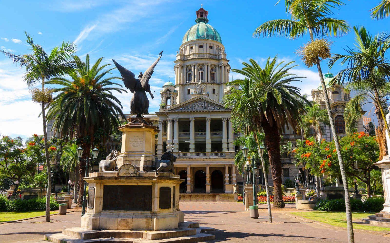 Hôtel de Ville, Durban. Afrique du Sud