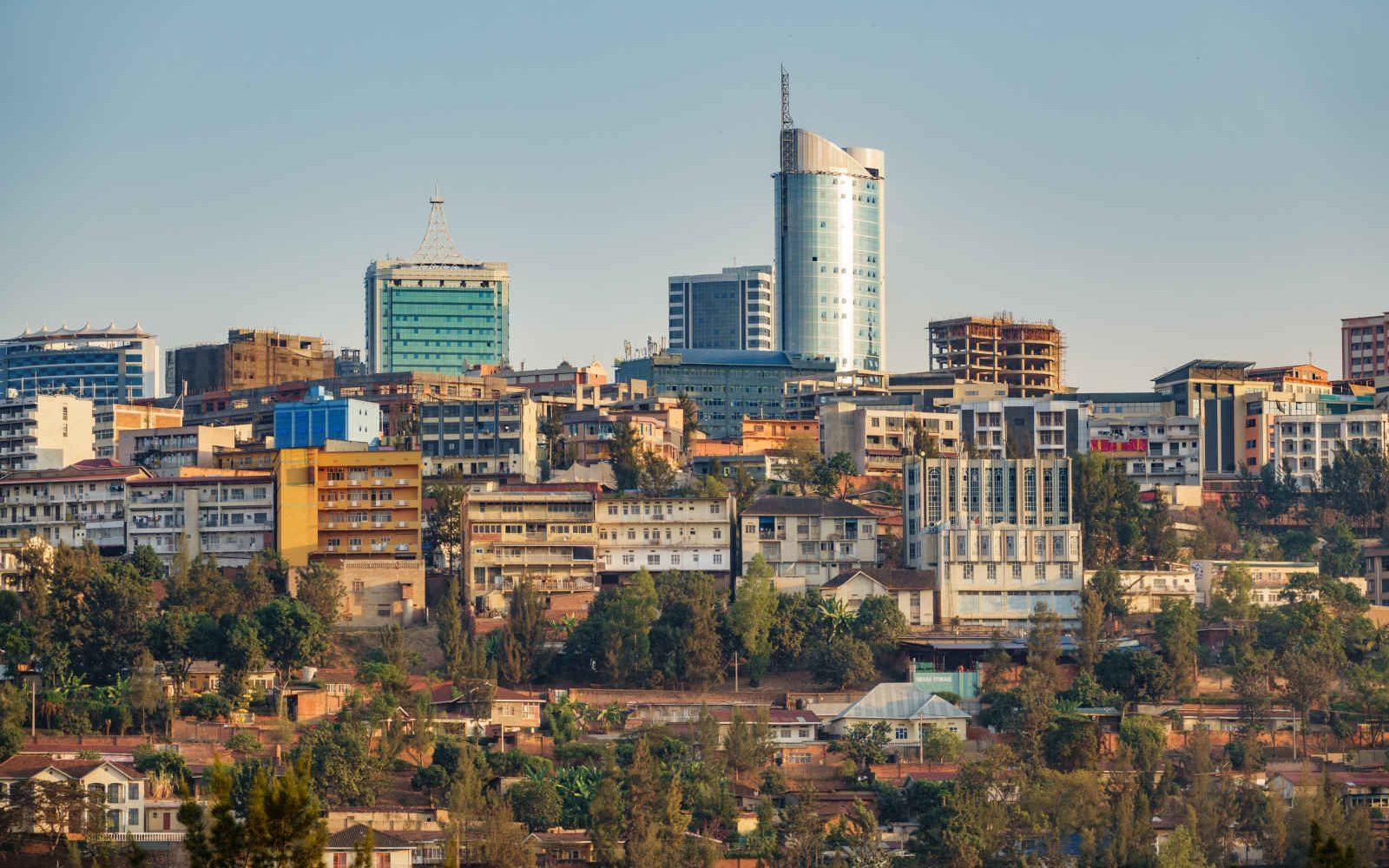 Skyline, Kigali, Rwanda