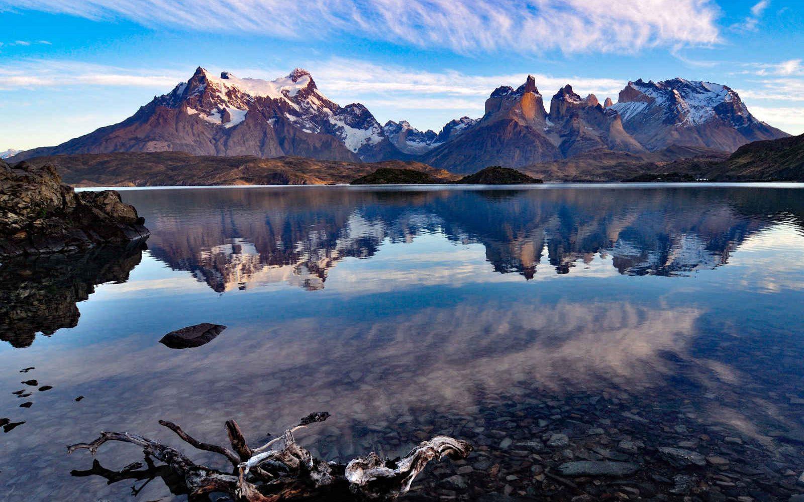 Lac Pehoe, Parc National de Torres del Paine, Chili