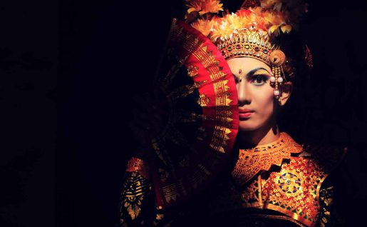 Danseuse de Leghong, Ubud, Bali, Indonésie
