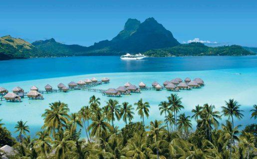 Le Paul Gauguin à Bora Bora, Polynésie française
