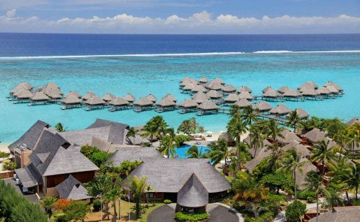 Vue générale, Hilton Moorea Lagoon Resort and Spa, Moorea, Polynésie Française