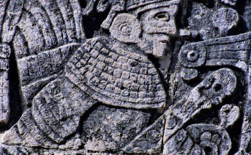 Détail, Chichen Itza, Yucatán, Mexique, Amérique Latine