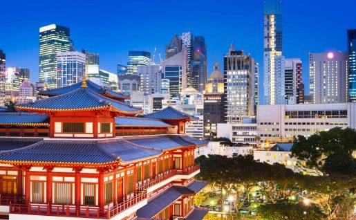 Temple de la relique de la dent de Bouddha, Singapour