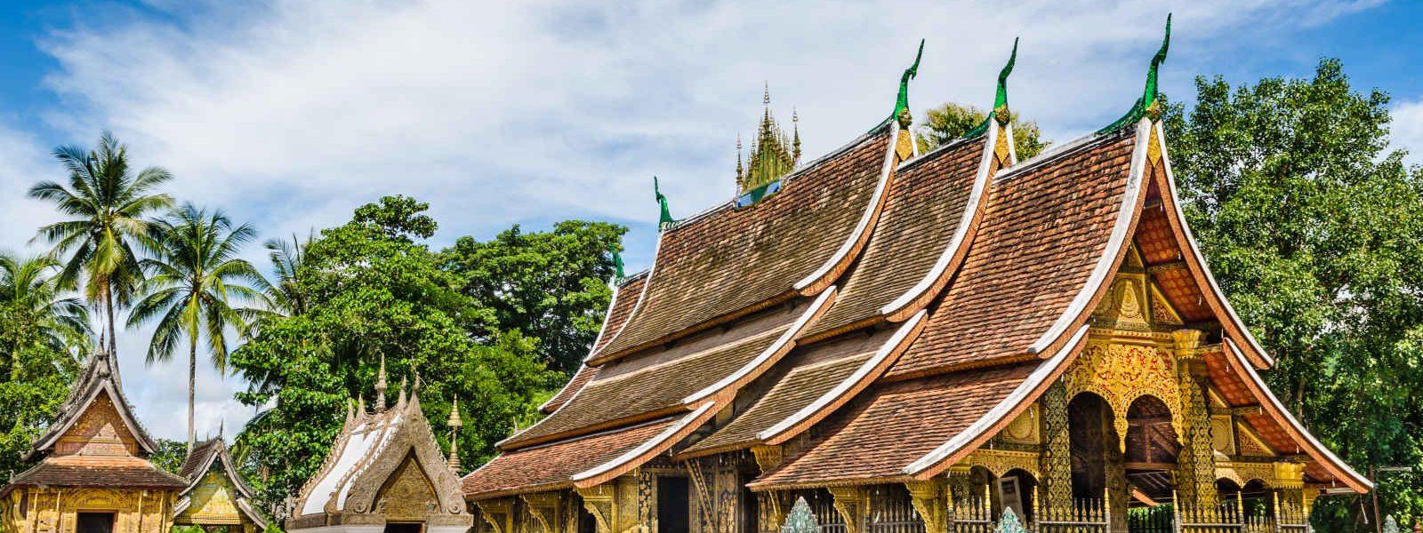 Temple Wat Xieng Thong, Luang Prabang, Laos