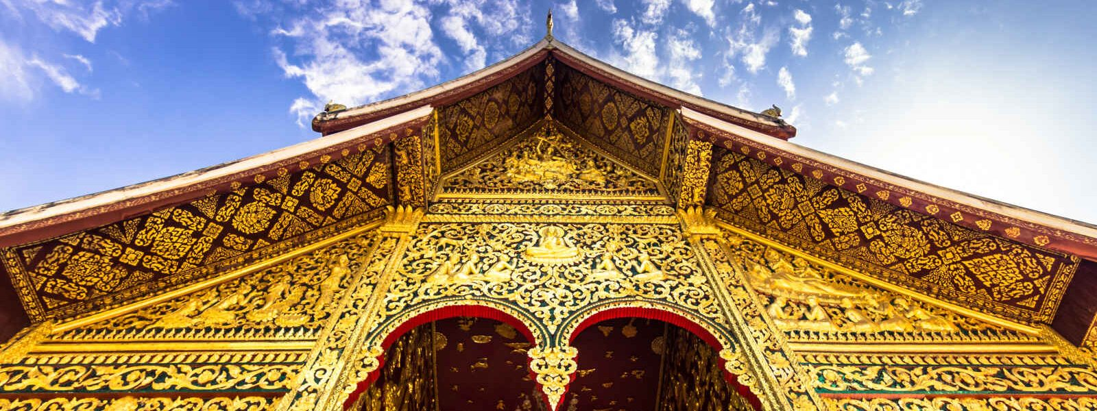 Temple Haw Pha Bang, Luang Prabang, Laos