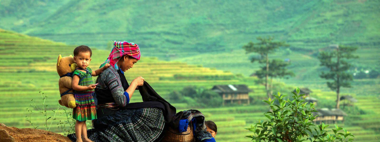 Famille, Hmong, Laos