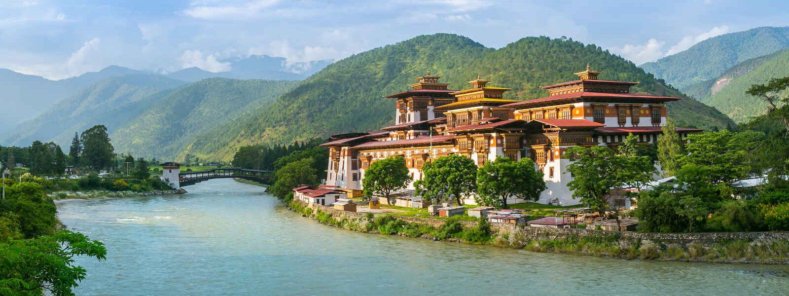 Dzong, Punakha, Bhoutan